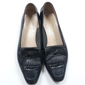 Salvatore Ferragamo Fringe Loafers